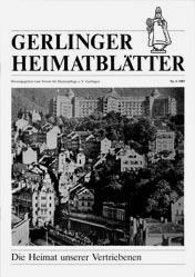 Gerlinger Heimatblätter