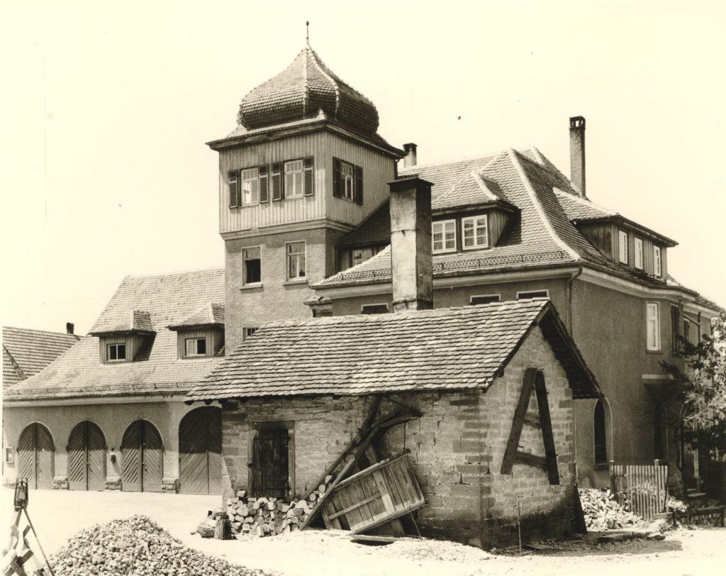 Backhäusle um 1955