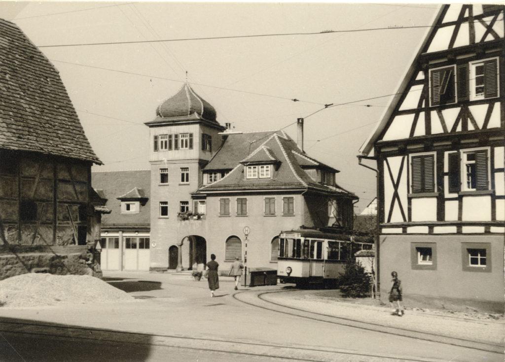 Backhäusle um 1958