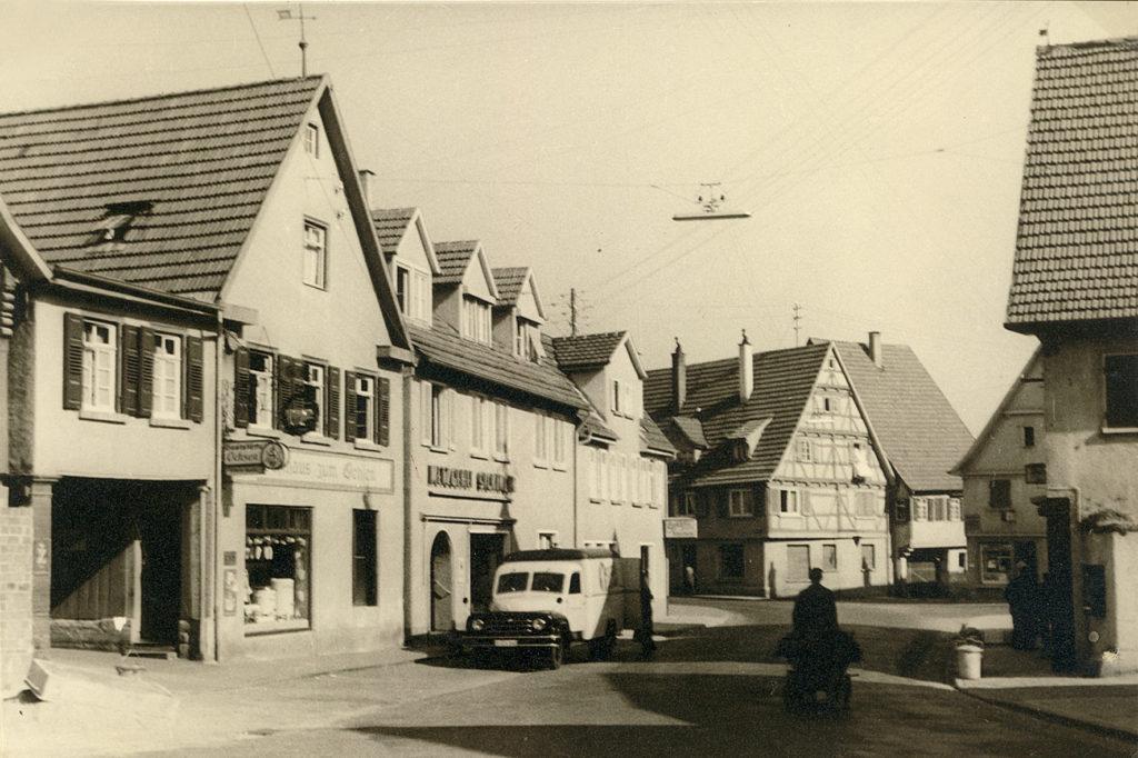 Hauptstraße 18 – Ochsen um 1960