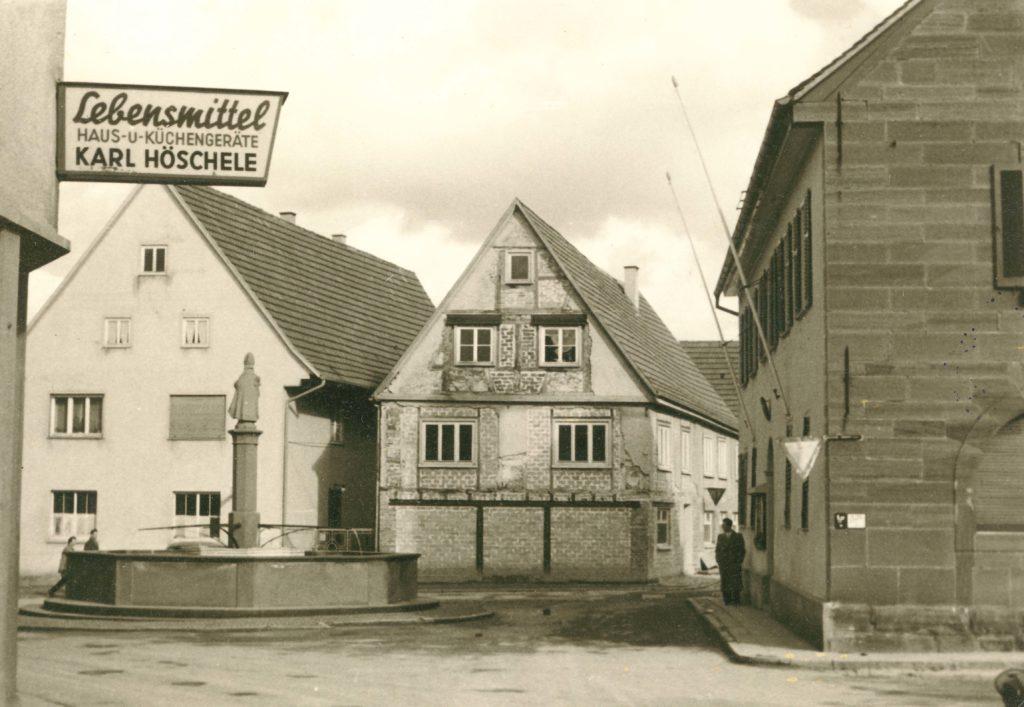 Hauptstraße 29 um 1955-60