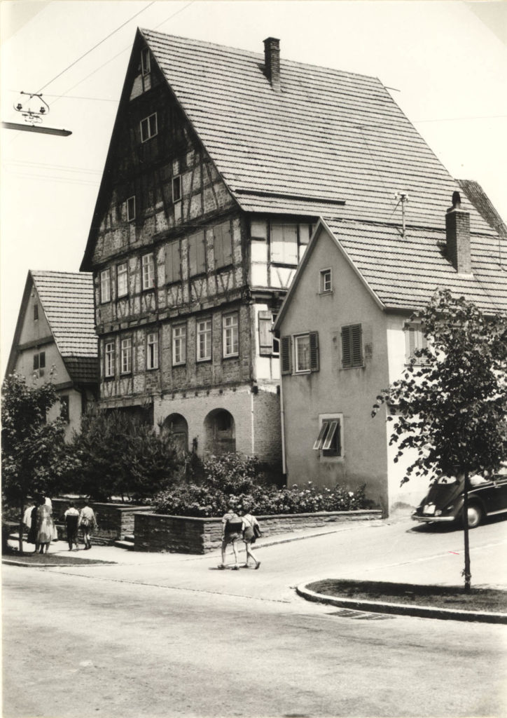 Hauptstraße 43 – Großes Haus um 1962