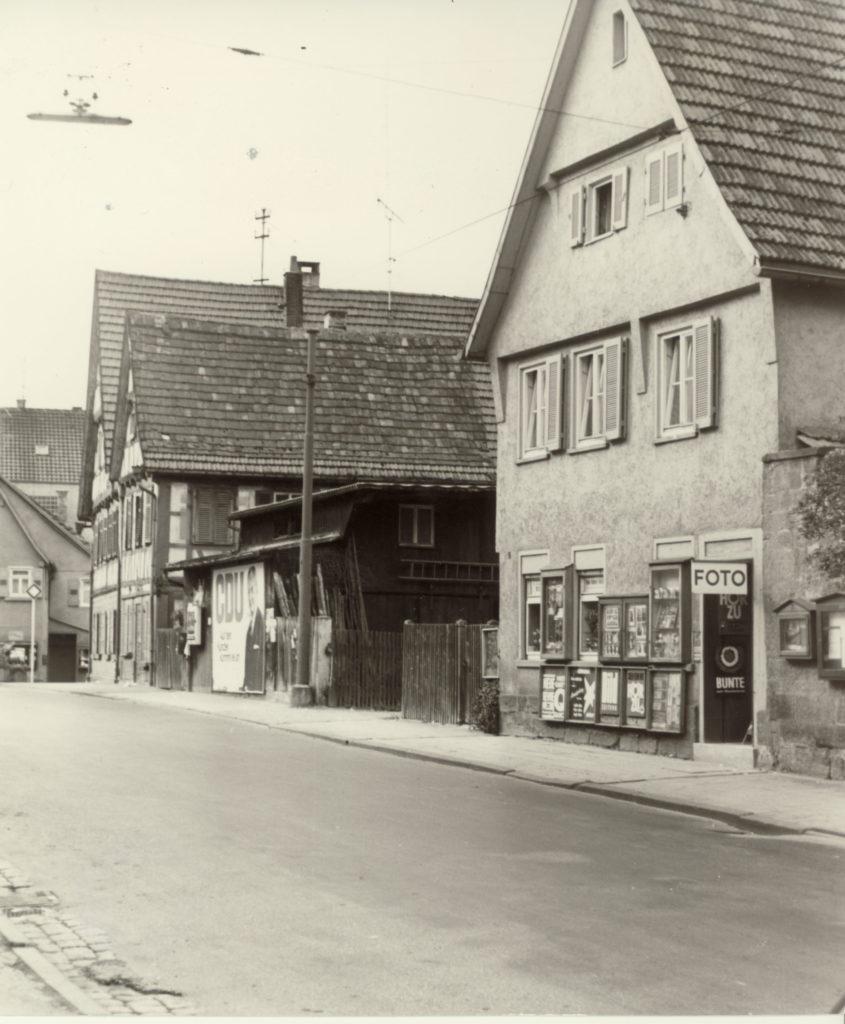Kirchstraße 5 um 1970