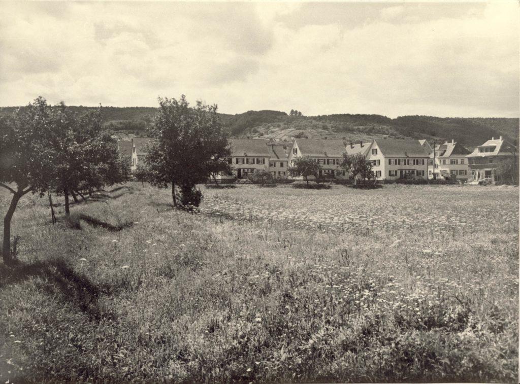Siedlung im Wiesengrund um 1936