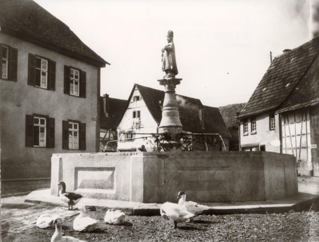 Urbanbrunnen um 1926