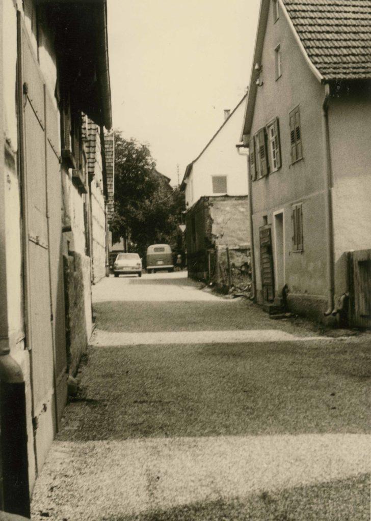 Badstr. 5 rechtes Haus 1962