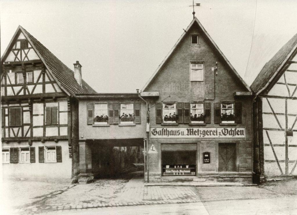 Hauptstr. 18 um 1930