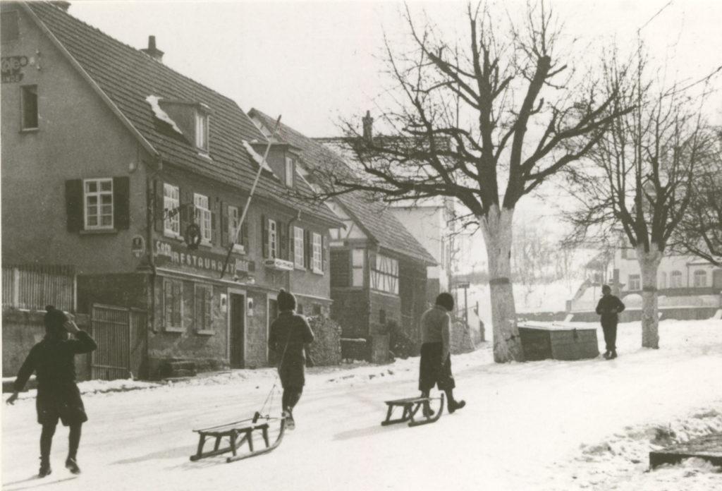 Hauptstr. 77 Gasthaus Linde 1940