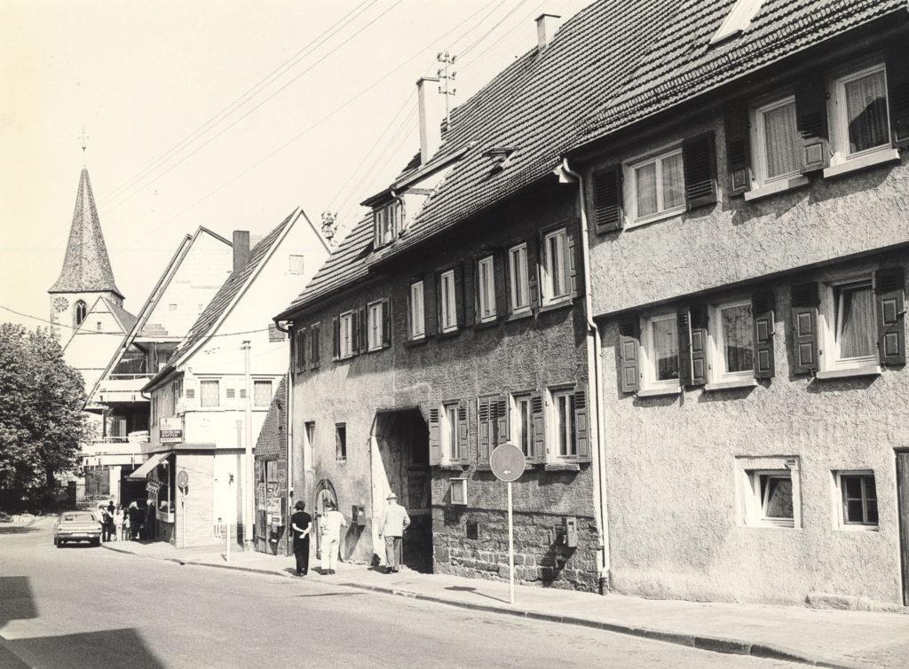 Kirchstr. 20-22-24 um 1984