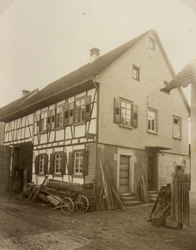 Schulstr. 8 Wagner Heck um 1920