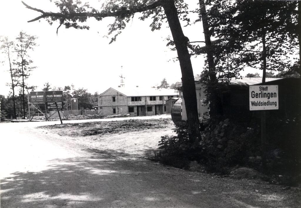 Waldsiedlung Bau 1962