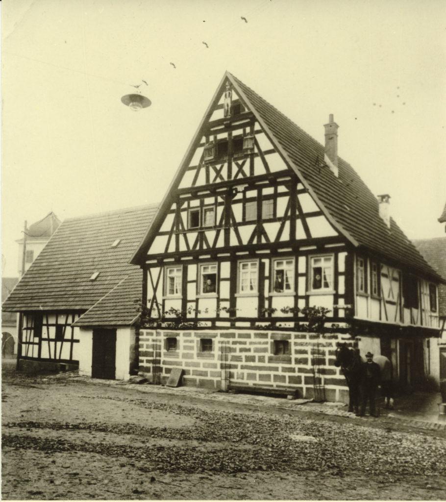 Weilimdorfer Str. 1 um 1930