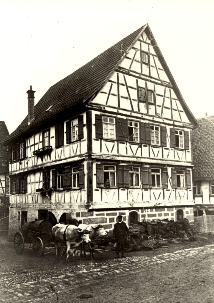 Weilimdorfer-Str. 5 um 1920
