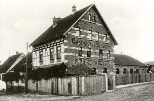 Alter Schwanen von 1871, Meterstr. 10