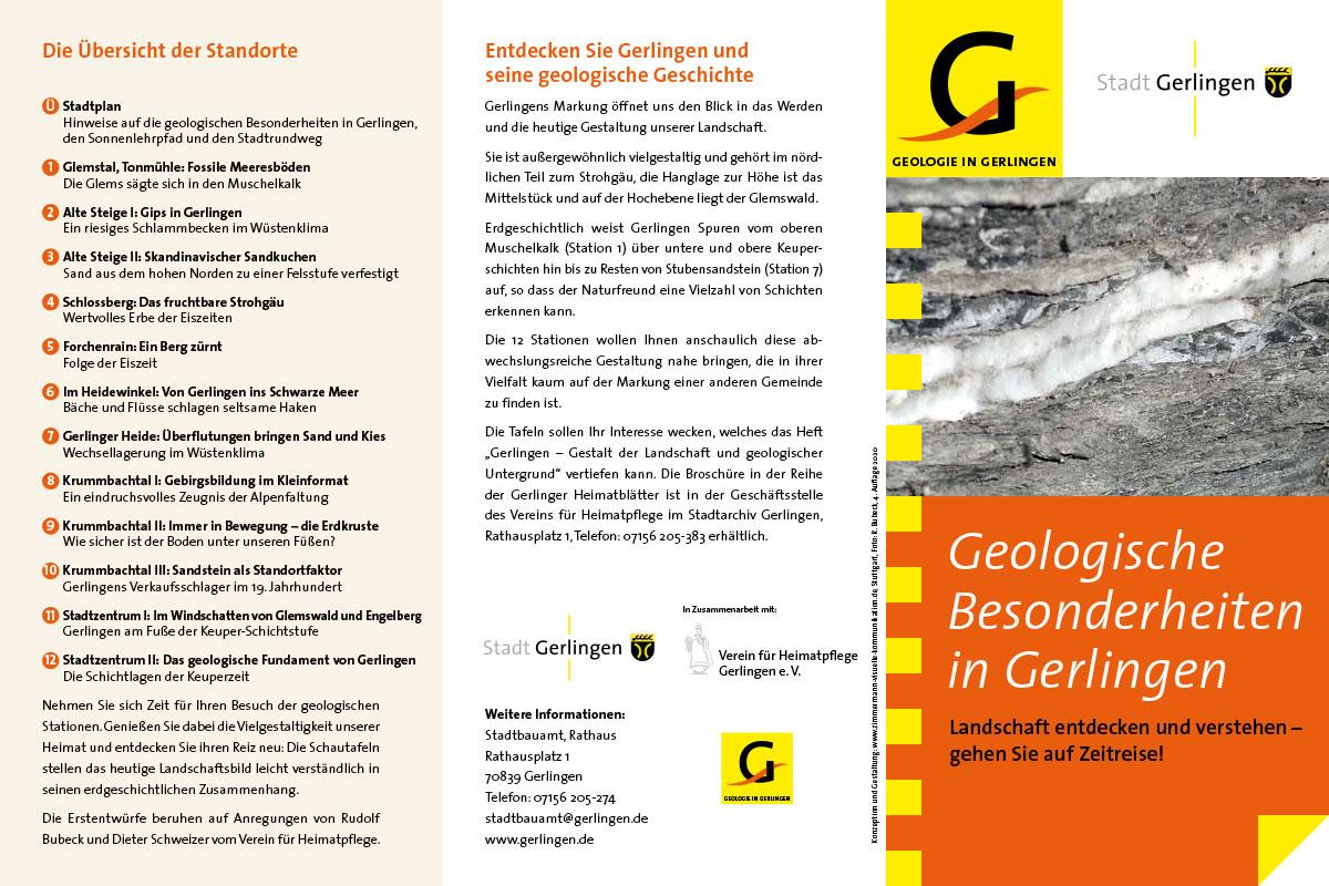 Gerlingen - Geologischer Pfad